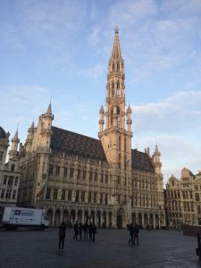Stadhuis op de Grote Markt in Brussel