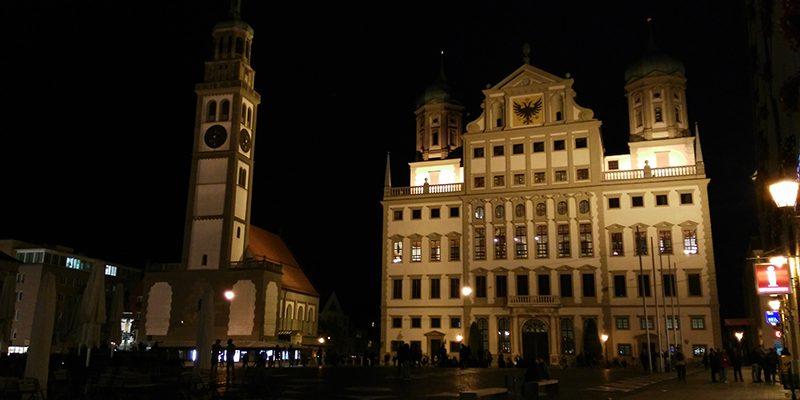 First photo taken in Augsburg.